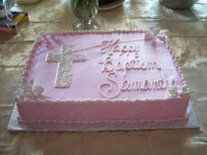 Religious - embossed cross