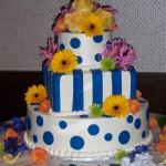 Blue Polka Dots and Stripes