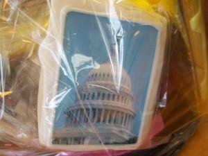 Logo cookies to showcase DC