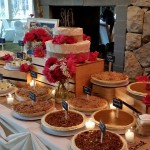 Rustic Pie Bar and Cake