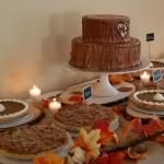 Fall themed Pie Bar