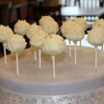 White Truffle Cake Pops
