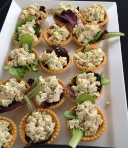 Treat the office with Lunch - Chicken Salad Tartlets
