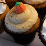 Pumpkin with maple icing