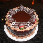 Chocolate Strawberries topping