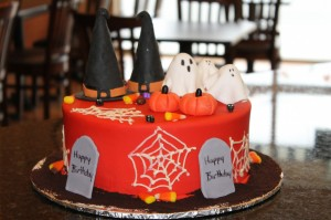 Halloween - red fondant