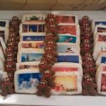 Holiday Scene Cookies