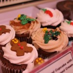Holiday themed cupcakes