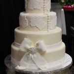 Fondant - Lace and Bow