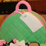 Purse - Pink and Green