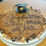 Cookie Cake - graduation