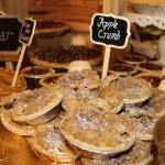 Miniature Apple Crumb Pie