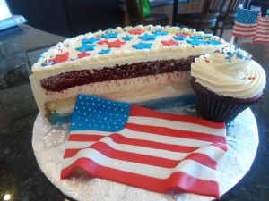 Red, White & Blue layers