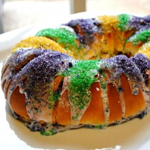 King Cake (with baby)