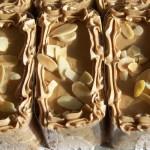 Mocha Truffle with sliced almonds