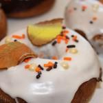 Iced Nutmeg Donuts