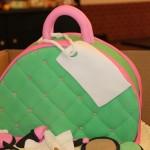 Pink/Mint Green Bowler