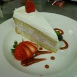 Slice of Raspberry Mousse